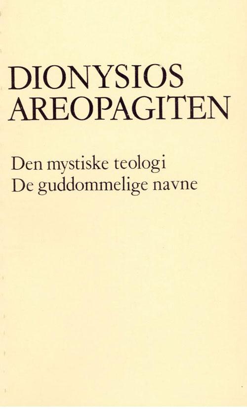 Image of   Den mystiske teologi