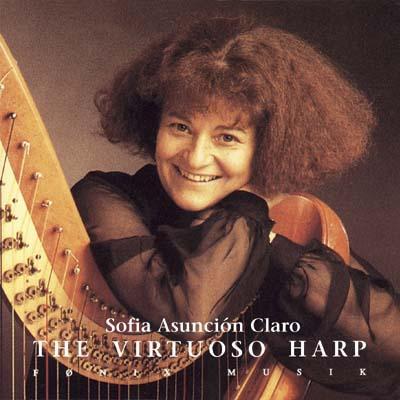 The virtuoso harp - fønix musik fra N/A på bog & mystik