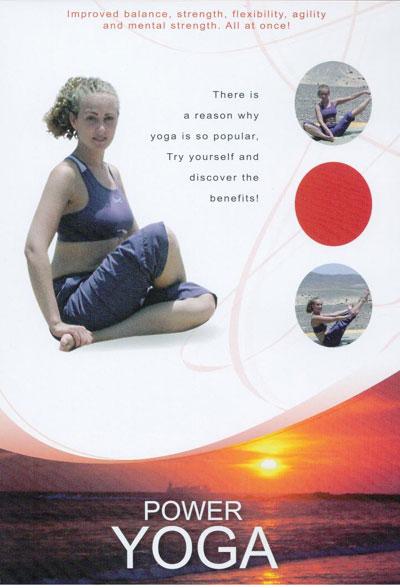 N/A Power yoga fra bog & mystik