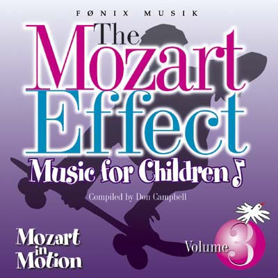 Mozart for Children vol. 3  - Mozart effekten - Fønix Musik