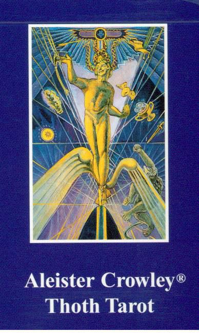 N/A – Aleister crowley thoth tarot - de luxe - tarotkort på bog & mystik