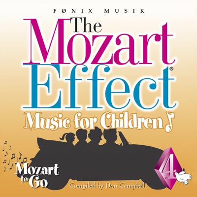 Mozart for Children vol. 4  - Mozart effekten - Fønix Musik