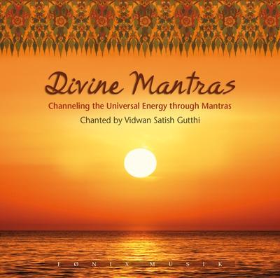 N/A – Divine mantras - 2 cd - fønix musik på bog & mystik