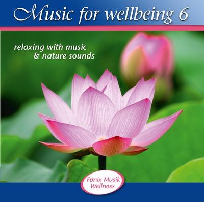 N/A Music for wellbeing 6 - fønix musik fra bog & mystik