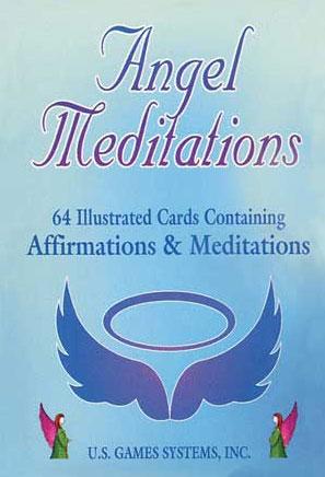 N/A Angel meditation cards - englekort fra bog & mystik