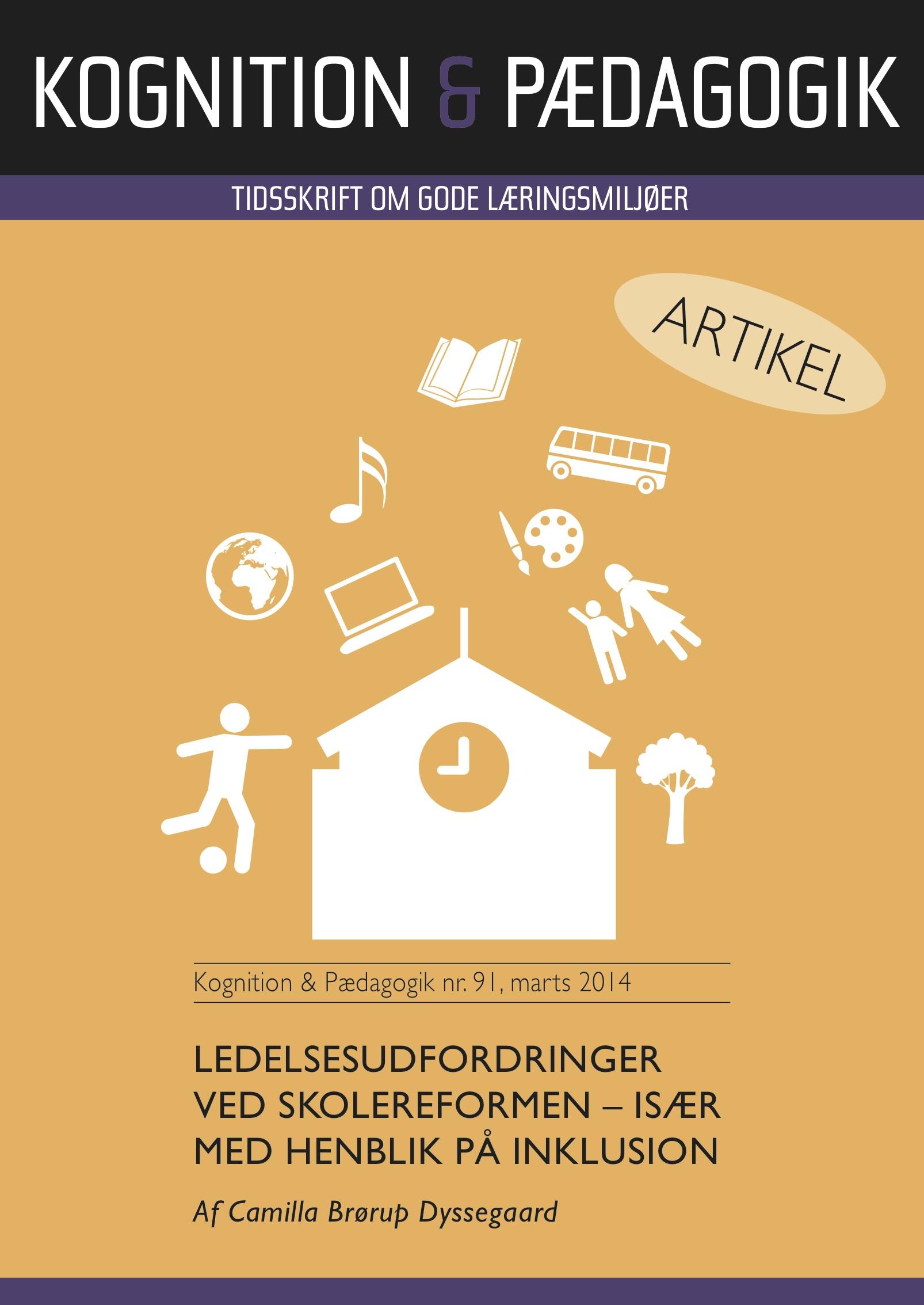 Ledelsesudfordringer ved skolereformen - især med henblik på inklusion - e-bog fra N/A fra bog & mystik