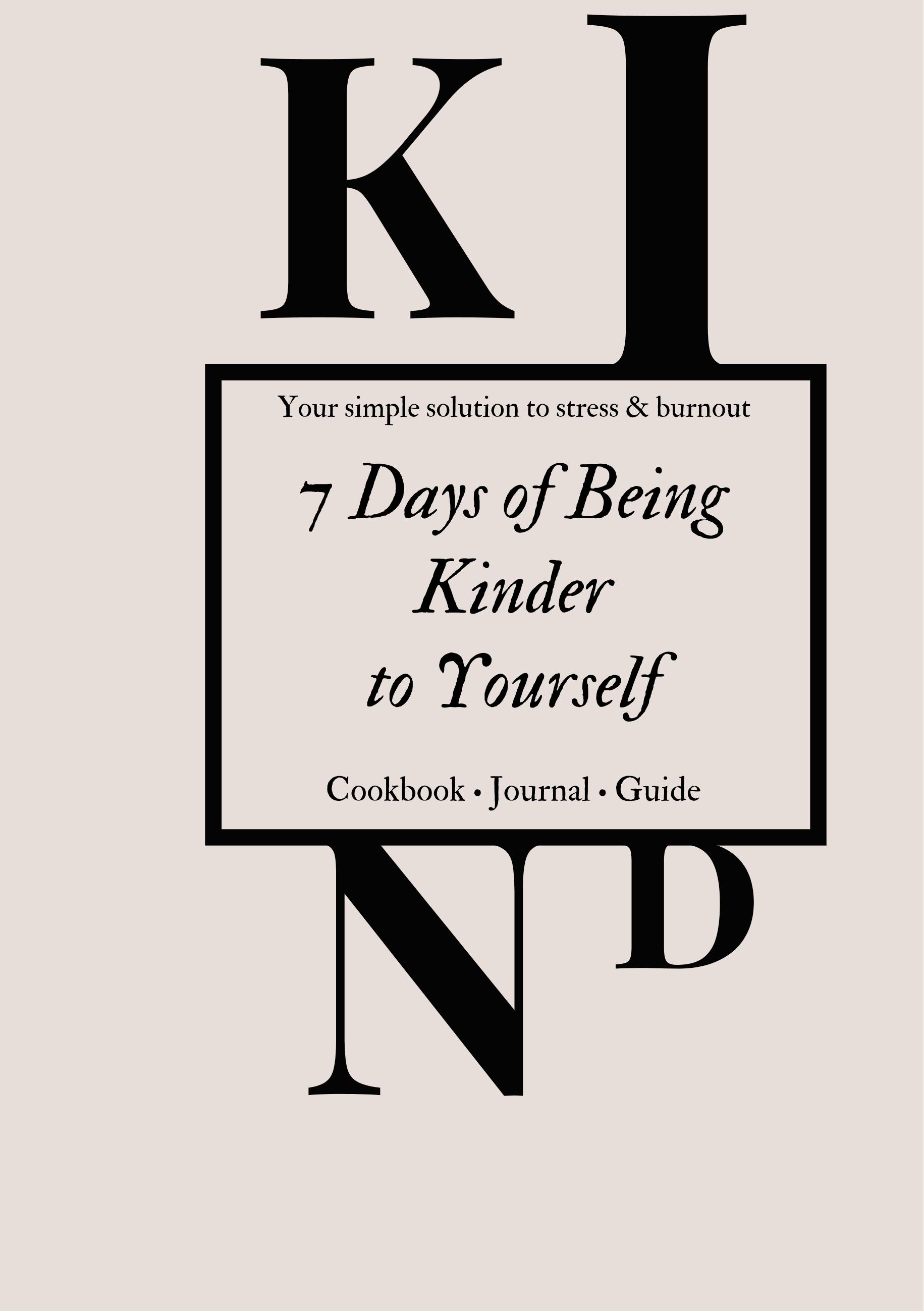 Image of   7 days of being kinder - E-bog