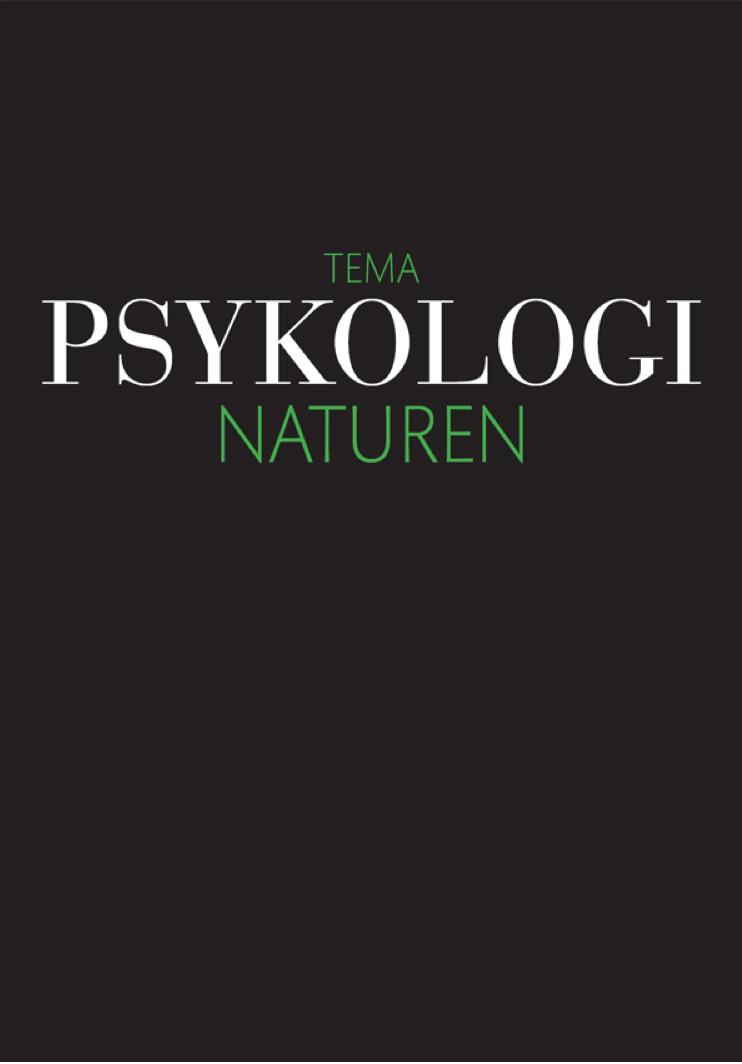 Image of   Psykologi: Naturen - E-bog