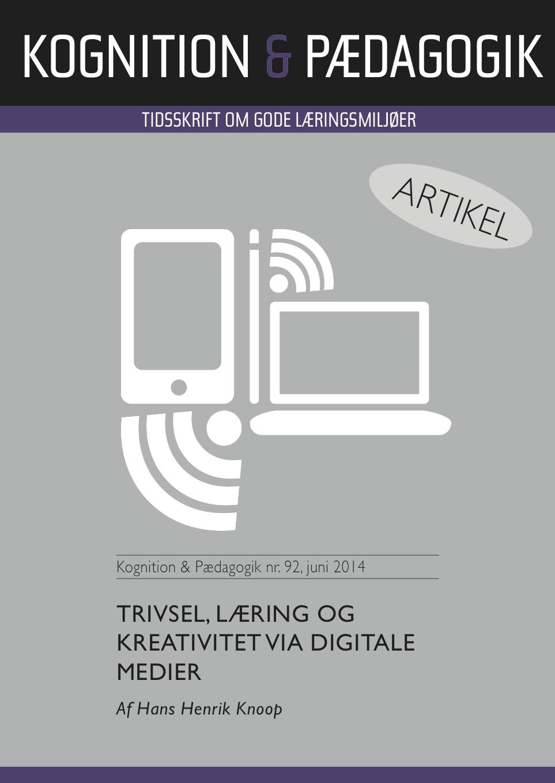 N/A – Trivsel, læring og kreativitet via digitale medier - e-bog på bog & mystik