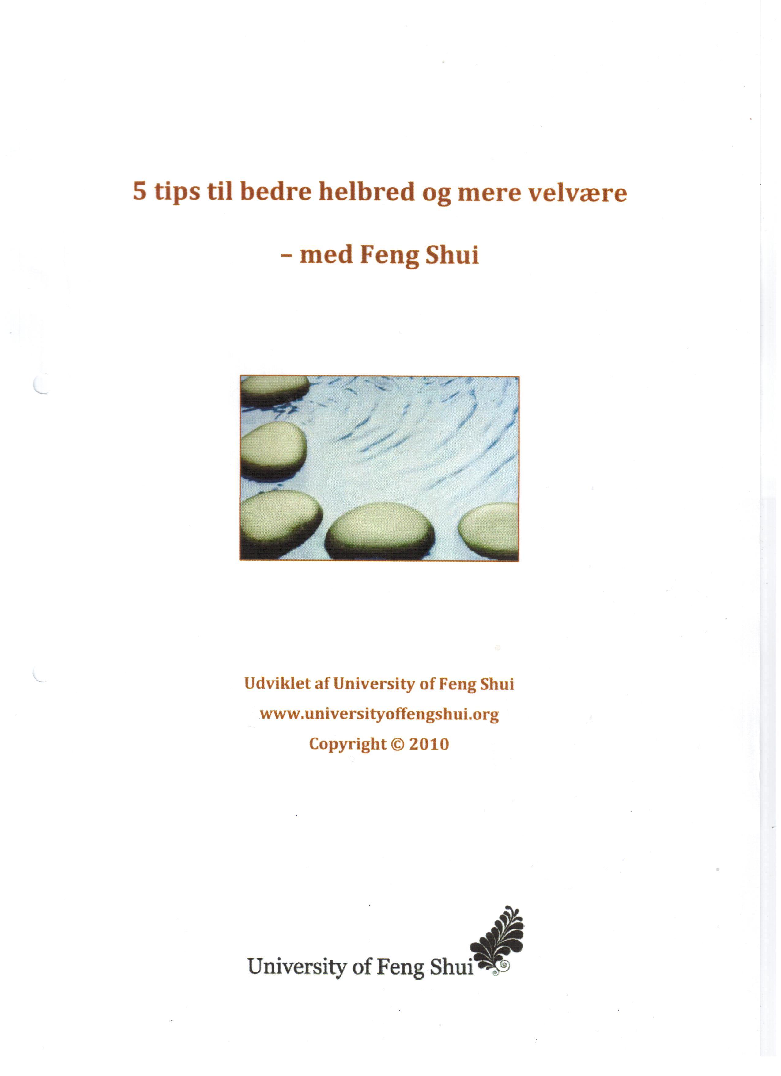 Image of   5 tips til bedre helbred og mere velvære - med Feng Shui - E-bog
