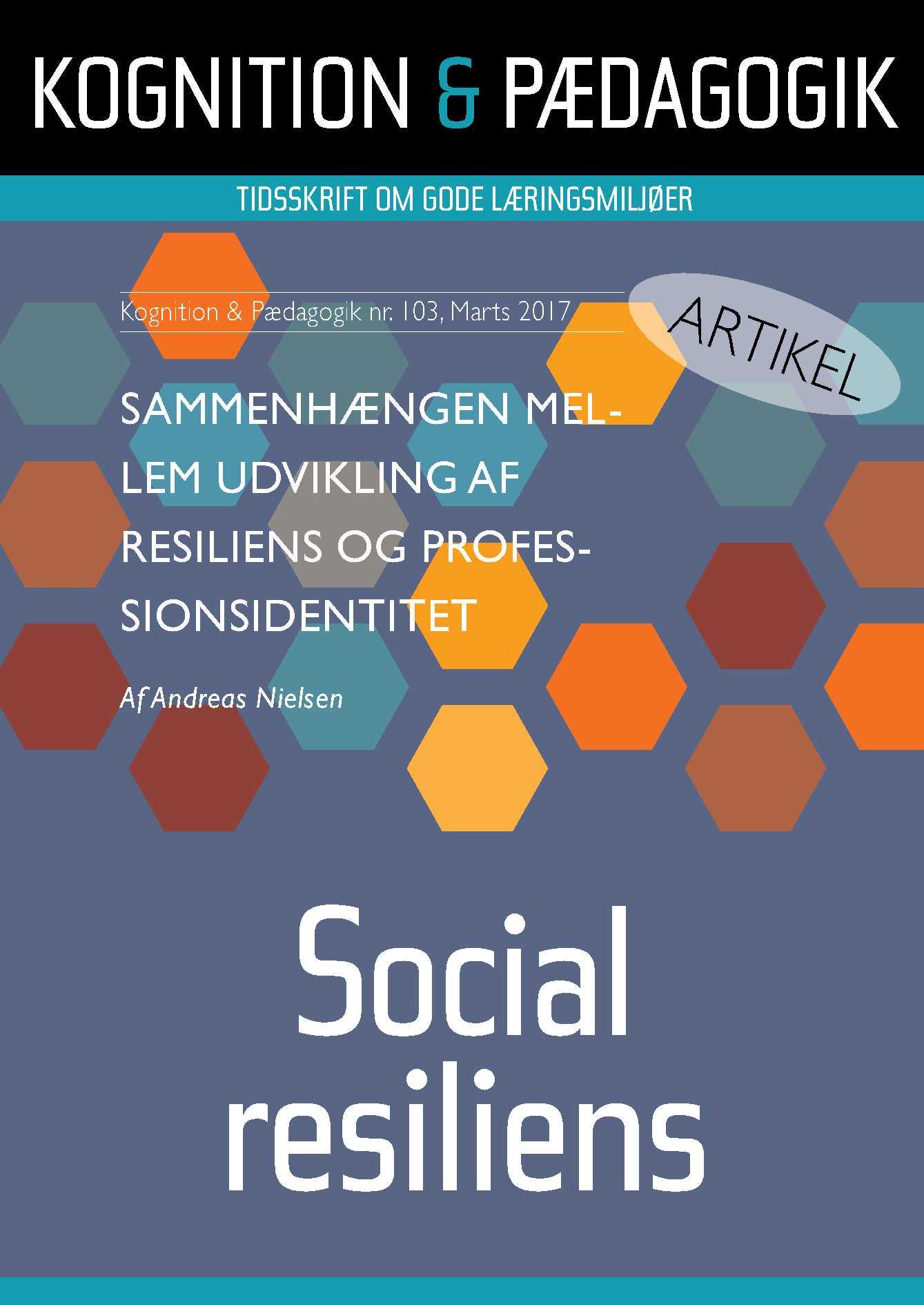 Image of   Sammenhængen mellem udvikling af resiliens og professionsidentitet - E-bog