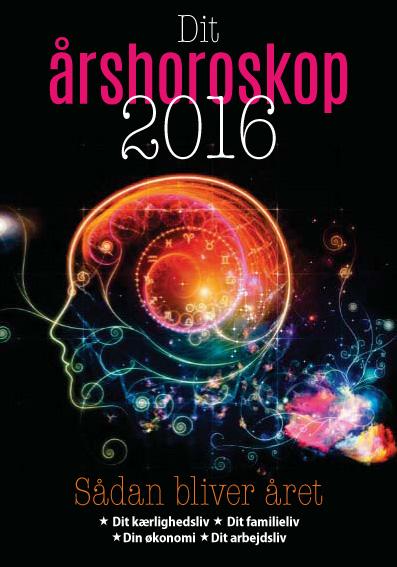 Dit årshoroskop 2016 - e-bog fra N/A fra bog & mystik