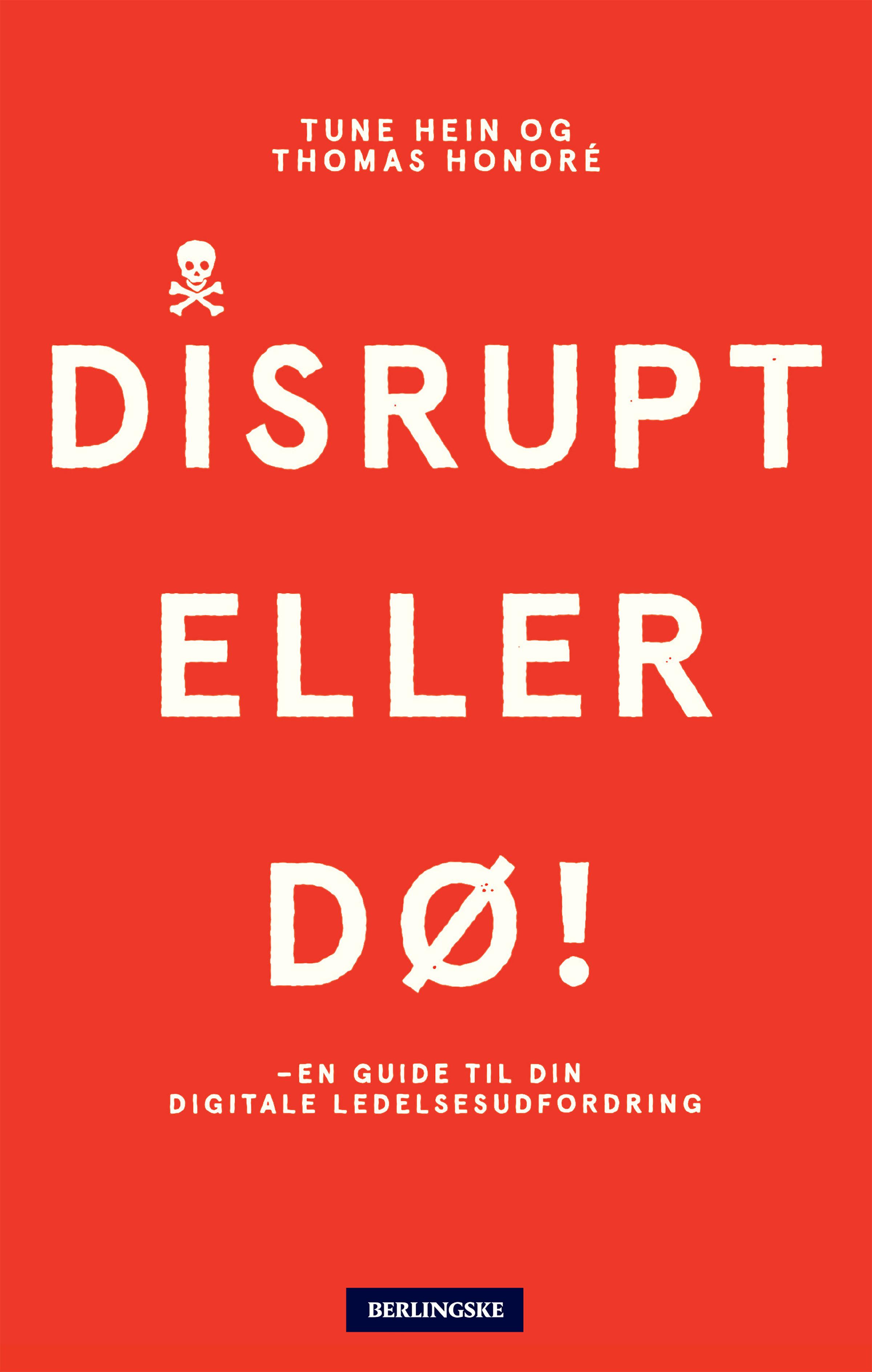 Image of   Disrupt eller dø - E-bog