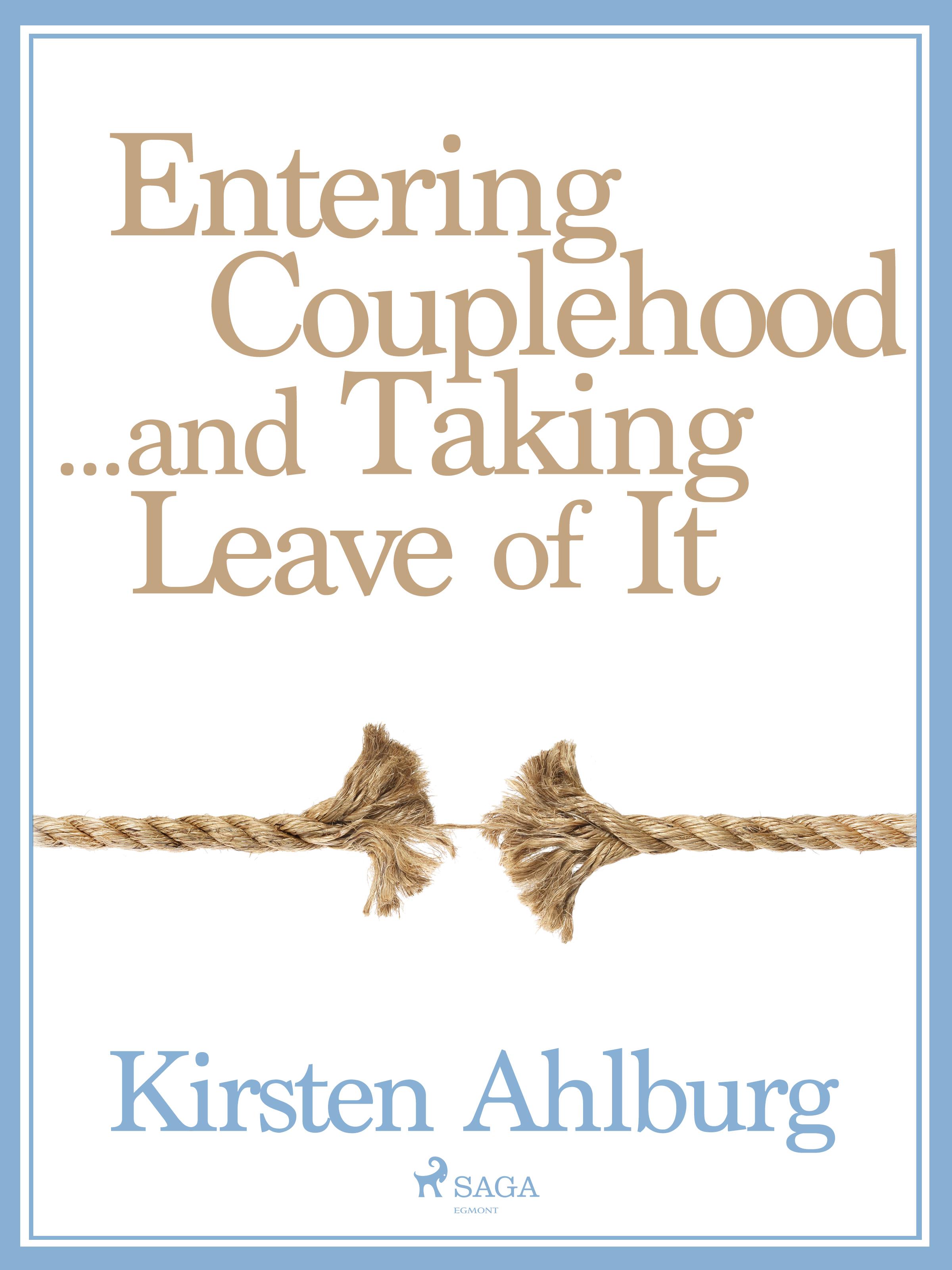 N/A – Entering couplehood...and taking leave of it - e-lydbog på bog & mystik