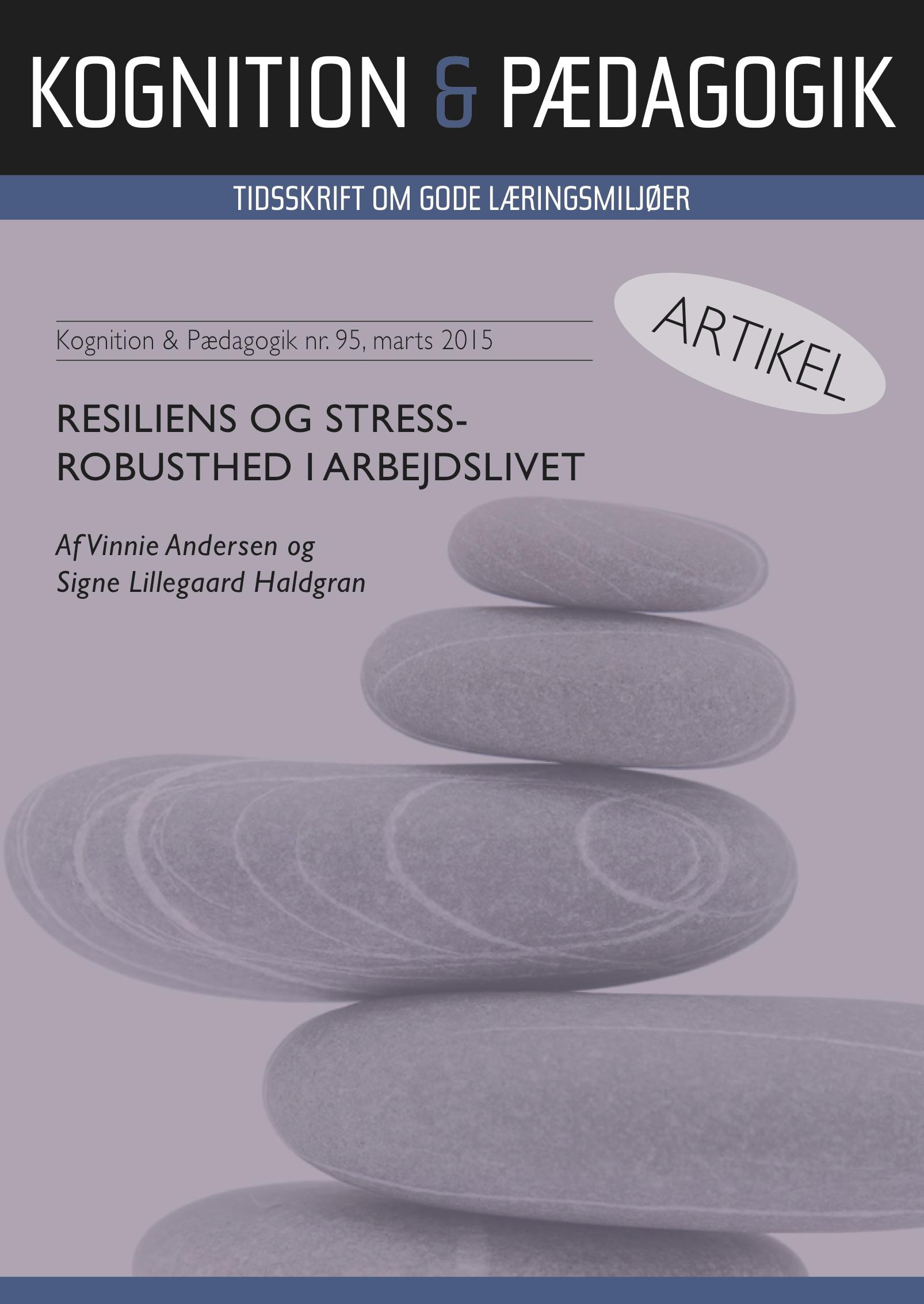 N/A Resiliens og stressrobusthed i arbejdslivet - e-bog fra bog & mystik