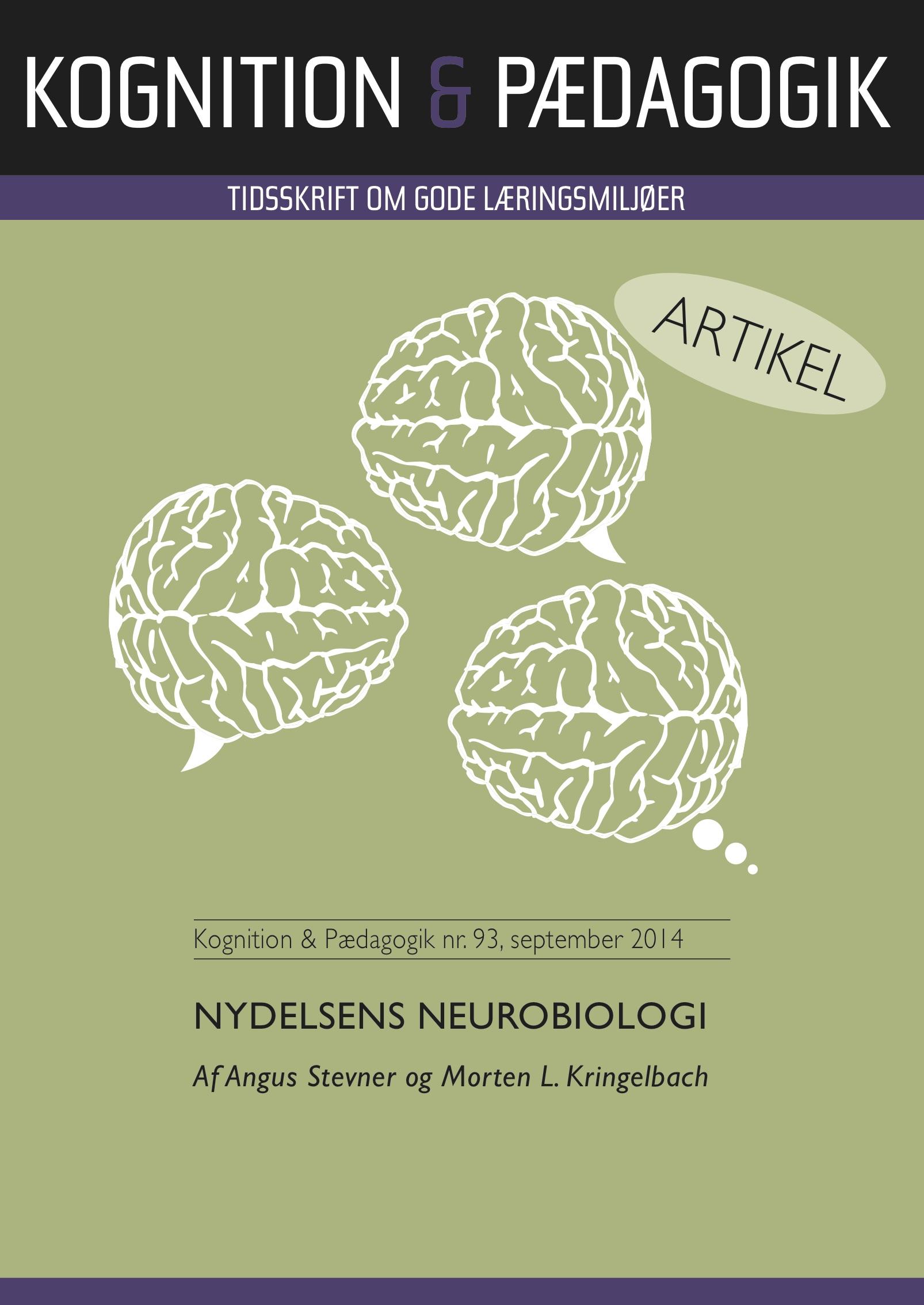 Nydelsens neurobiologi - e-bog fra N/A på bog & mystik