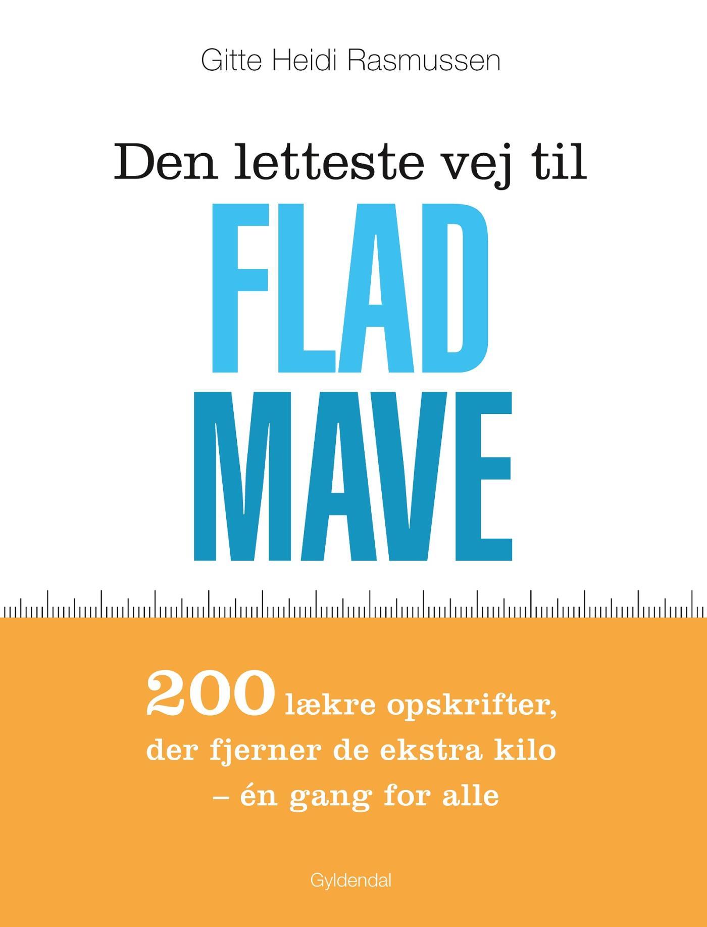 Den letteste vej til flad mave - e-bog fra N/A på bog & mystik