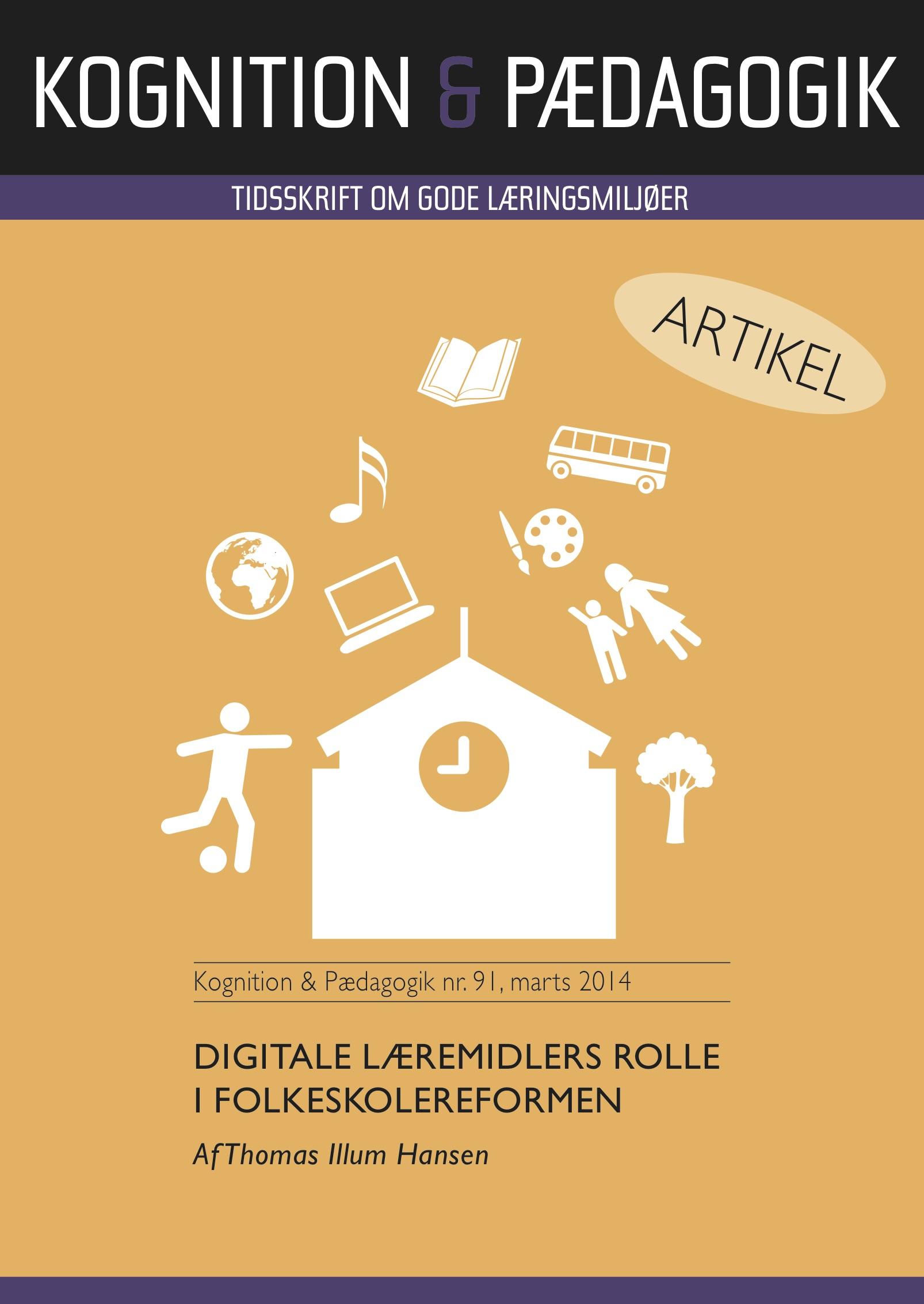 N/A – Digitale læremidlers rolle i folkeskolereformen - e-bog på bog & mystik