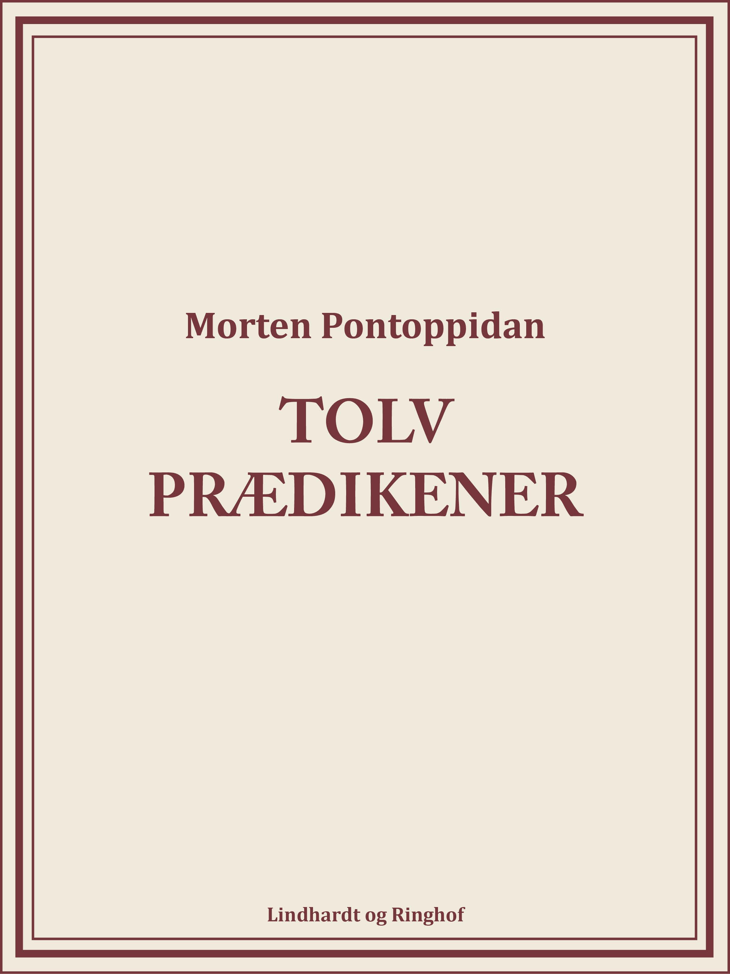 Image of   Tolv prædikener - E-bog