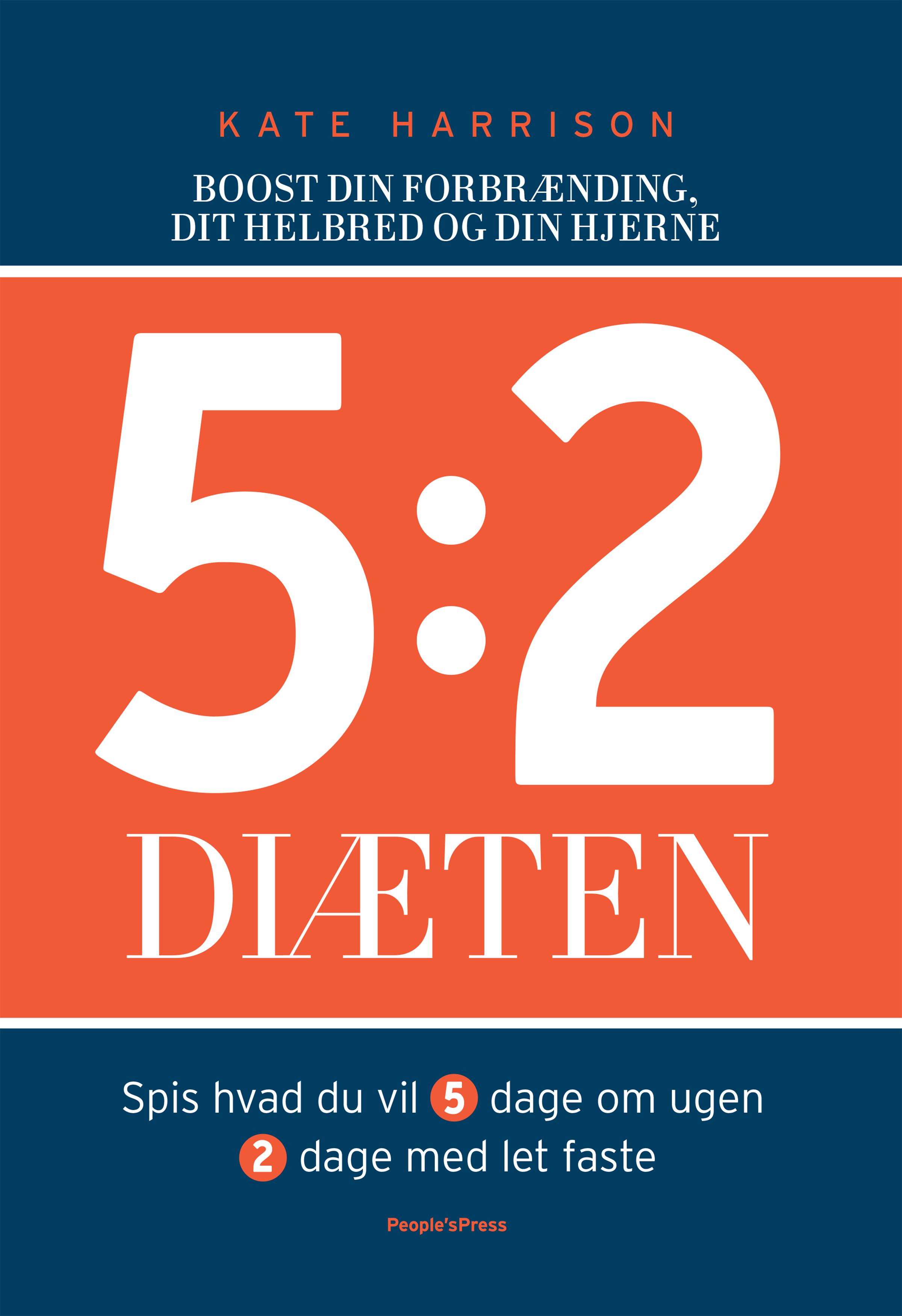 Image of   5:2 diæten - E-bog