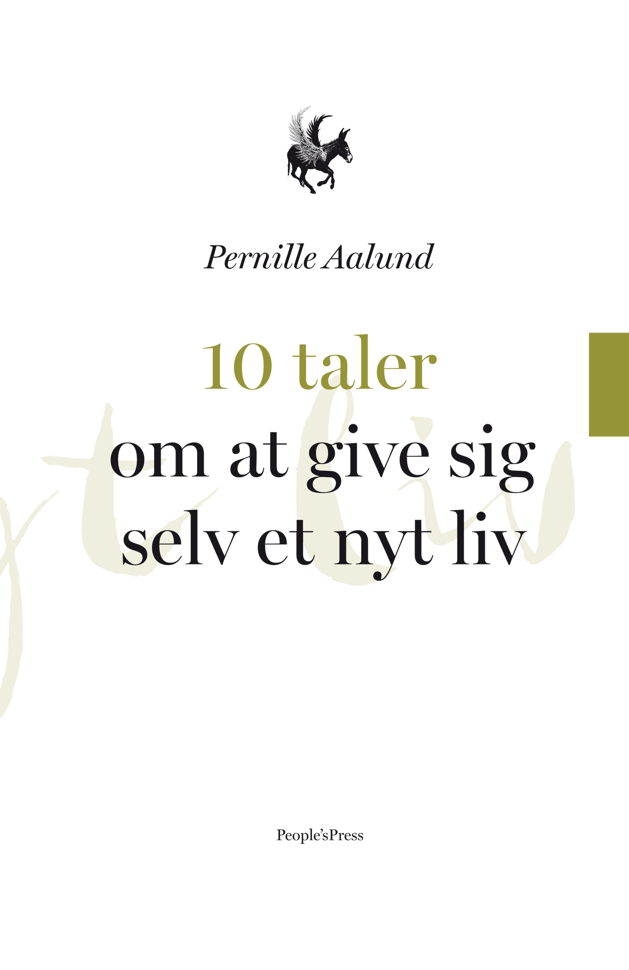 Image of   10 taler om at give sig selv et nyt liv - E-bog