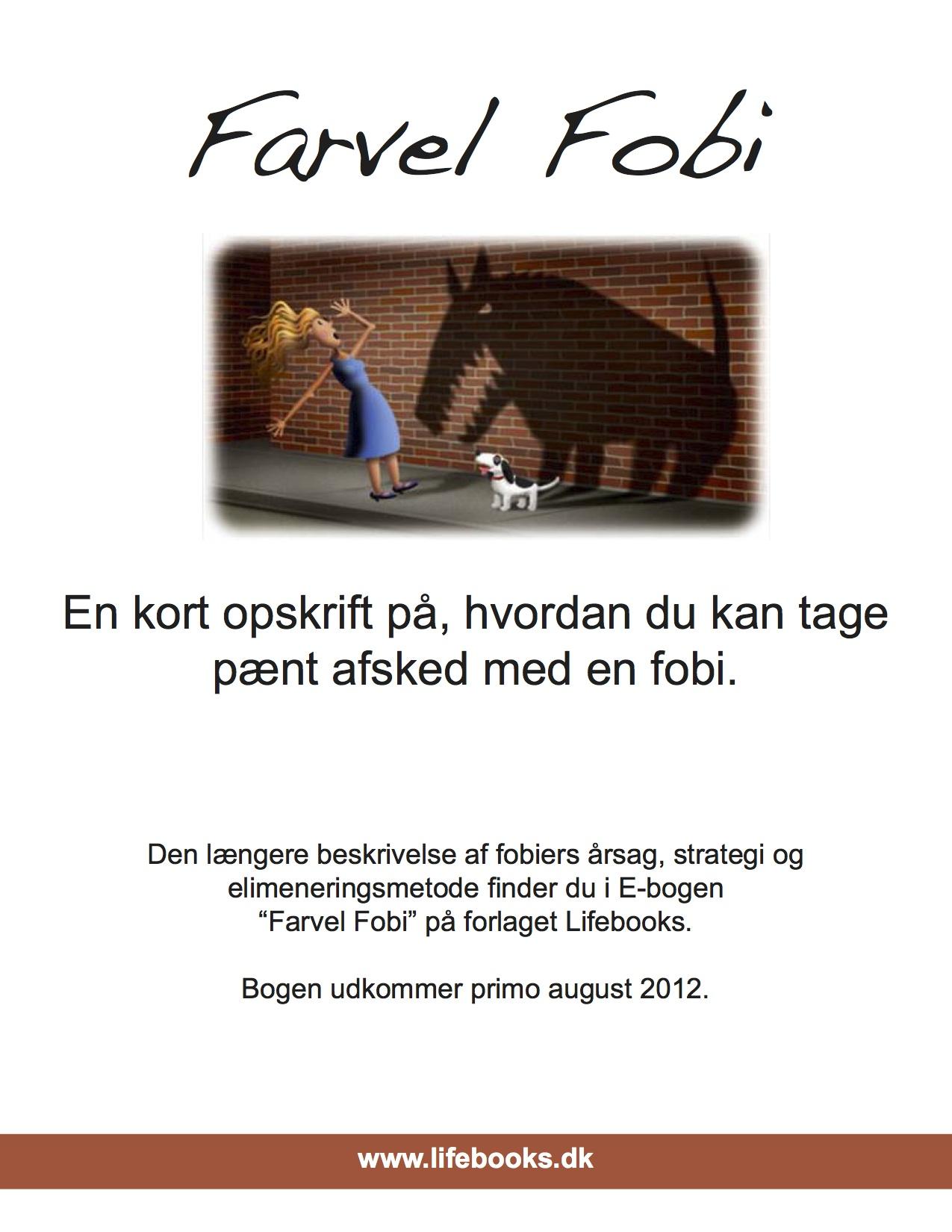 N/A – Farvel fobi miniversionen - e-bog på bog & mystik