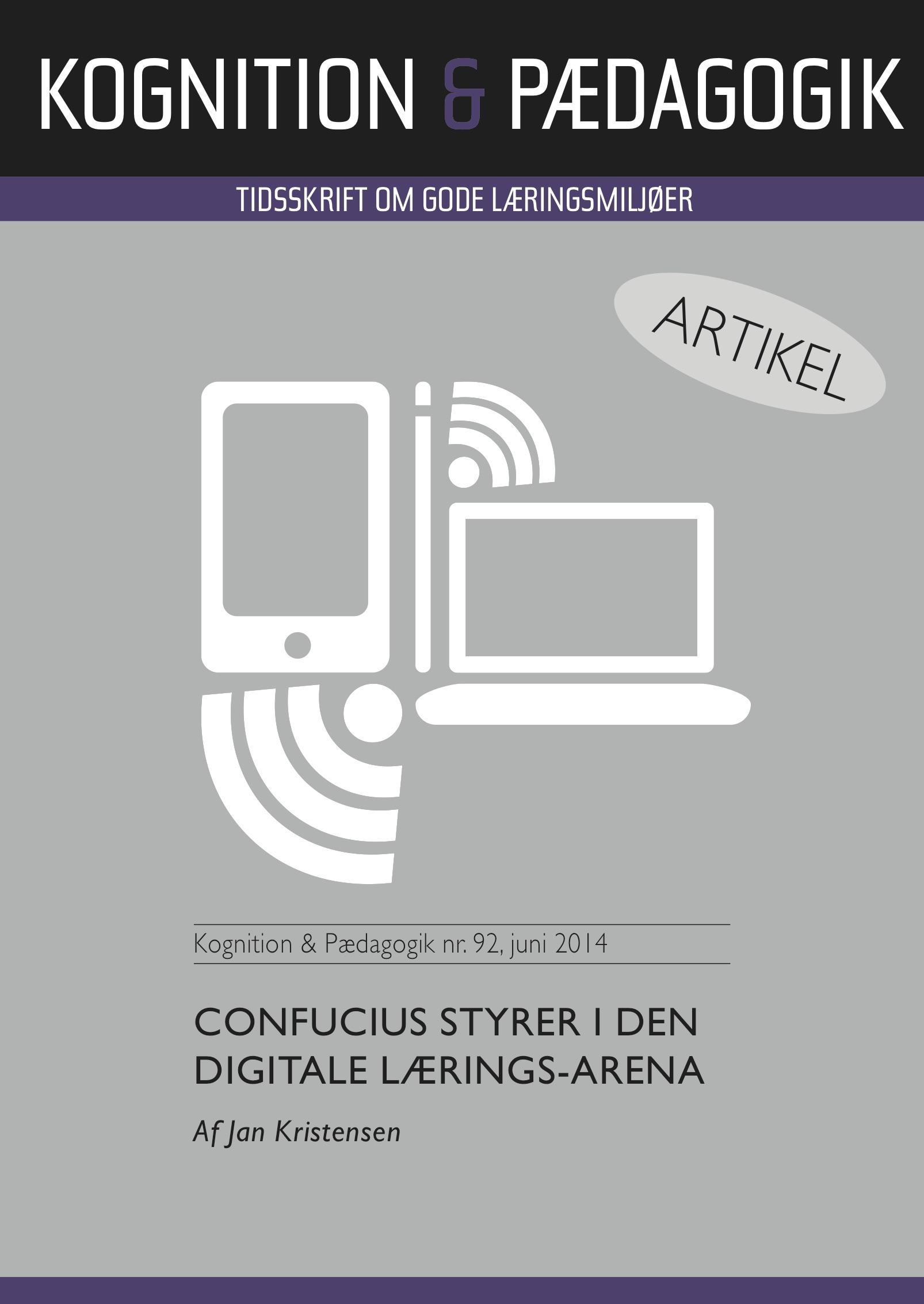 N/A – Confucius styrer i den digitale lærings-arena - e-bog på bog & mystik