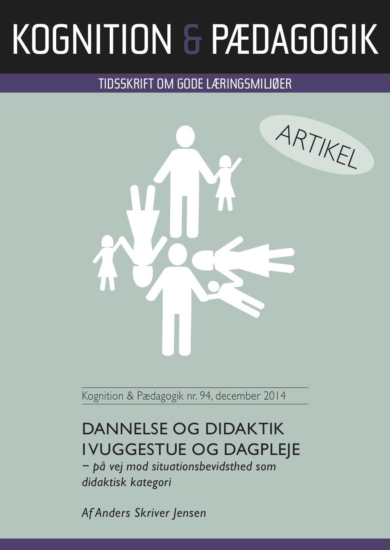 N/A – Dannelse og didaktik i vuggestue og dagpleje - e-bog på bog & mystik