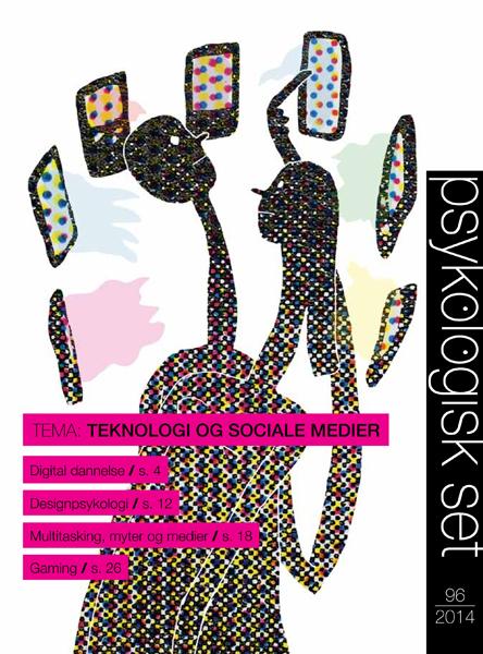 N/A Psykologisk set 96: teknologi og sociale medier - e-bog på bog & mystik