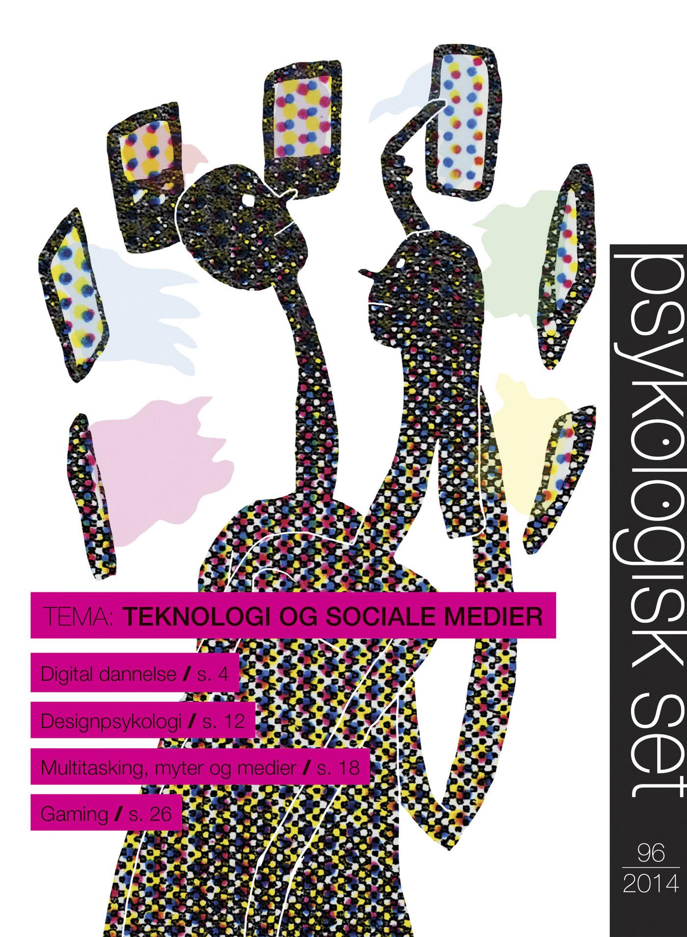Psykologisk Set 96: Teknologi og sociale medier - E-bog