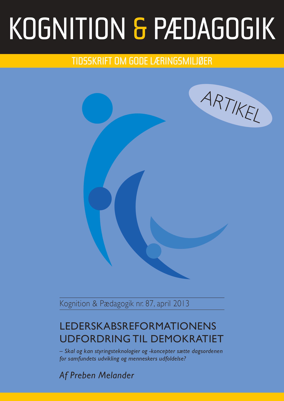 N/A – Lederskabsreformationens udfordring til demokratiet - e-bog fra bog & mystik