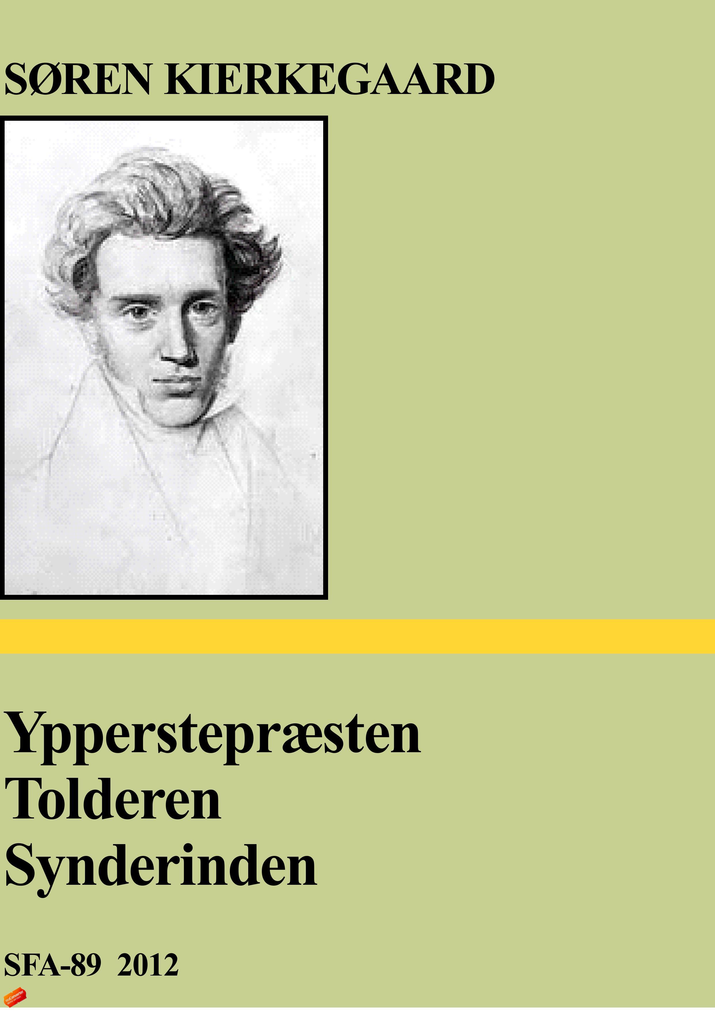 N/A – Ypperstepræsten - tolderen - synderinden - e-bog på bog & mystik