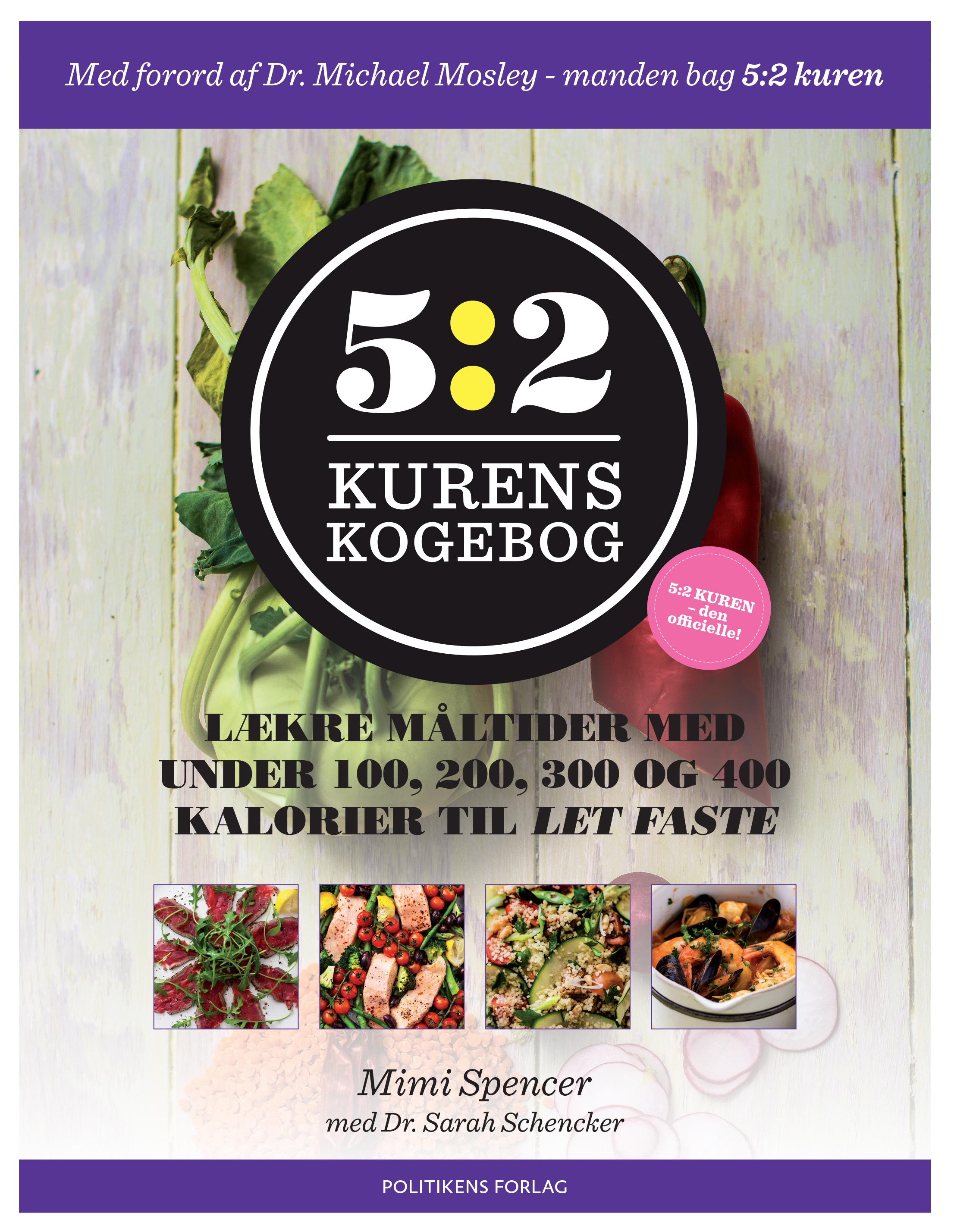 Image of   5:2 kurens kogebog - E-bog
