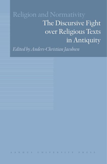 N/A The discursive fight over religious texts in antiquity - e-bog på bog & mystik