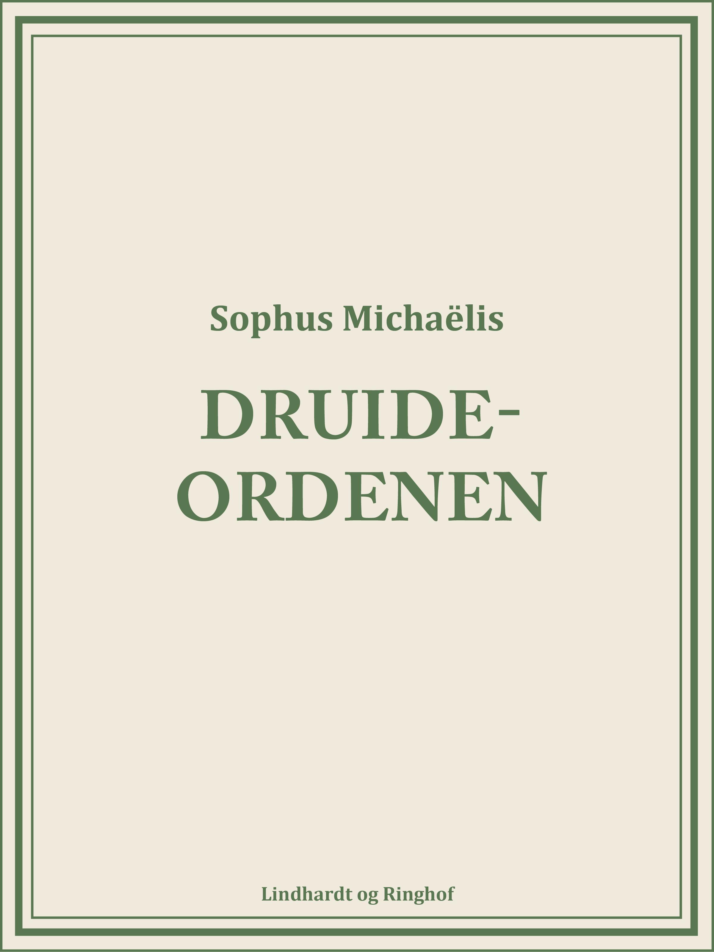 Druide-Ordenen - E-bog