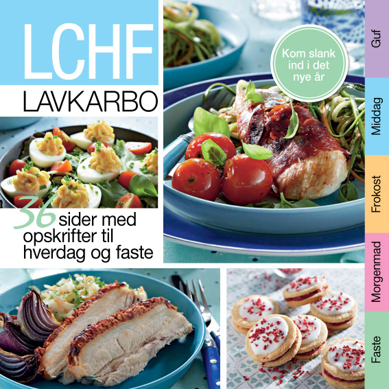 Lchf 1 - e-bog fra N/A på bog & mystik