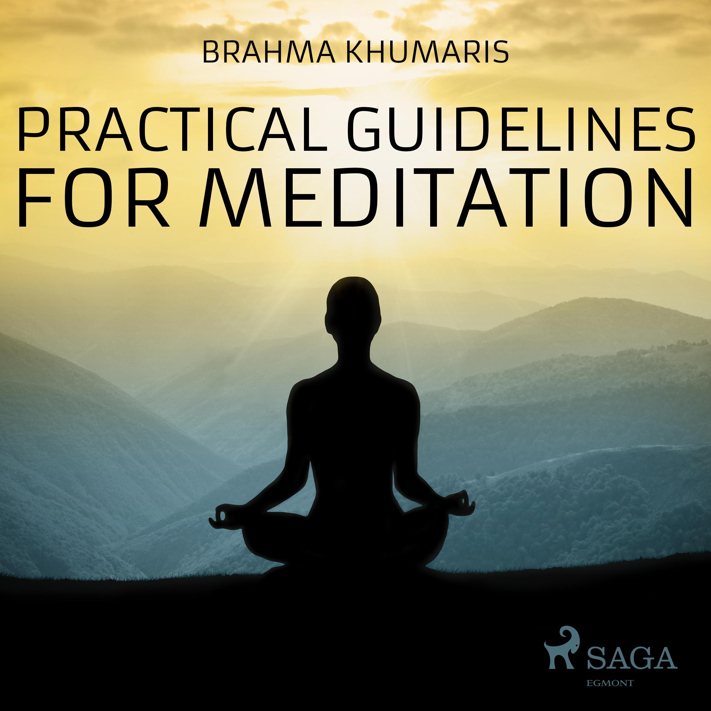 N/A Practical guidelines for meditation - e-lydbog fra bog & mystik