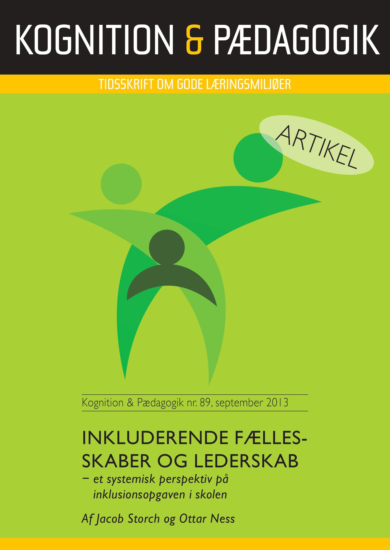 Image of   Inkluderende fællesskaber og lederskab - E-bog