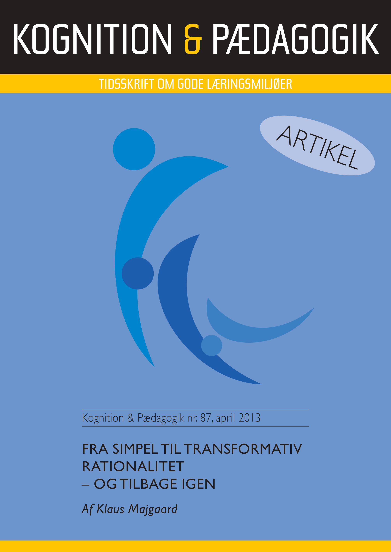 N/A Fra simpel til transformativ rationalitet - e-bog på bog & mystik