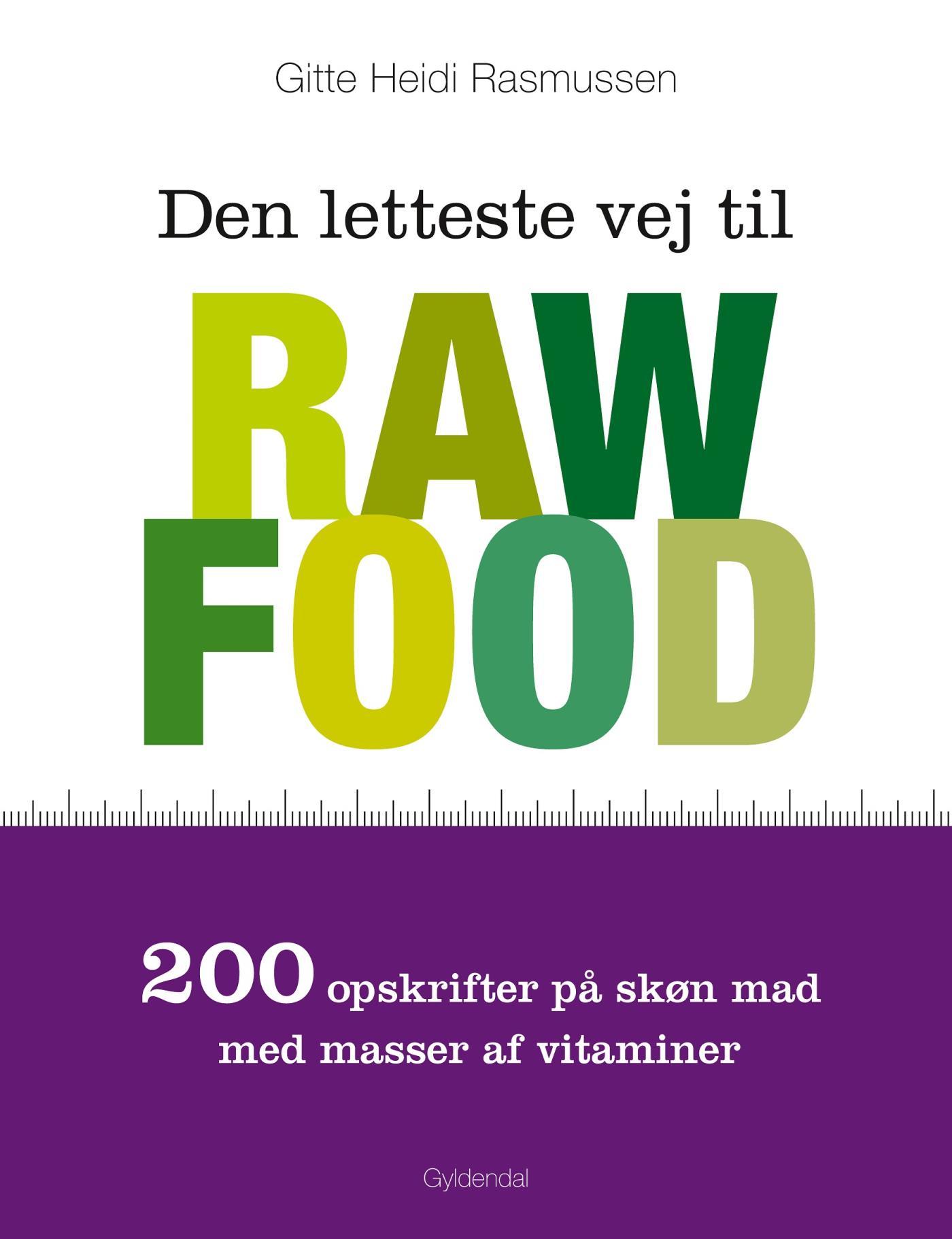 N/A Den letteste vej til raw food - e-bog på bog & mystik
