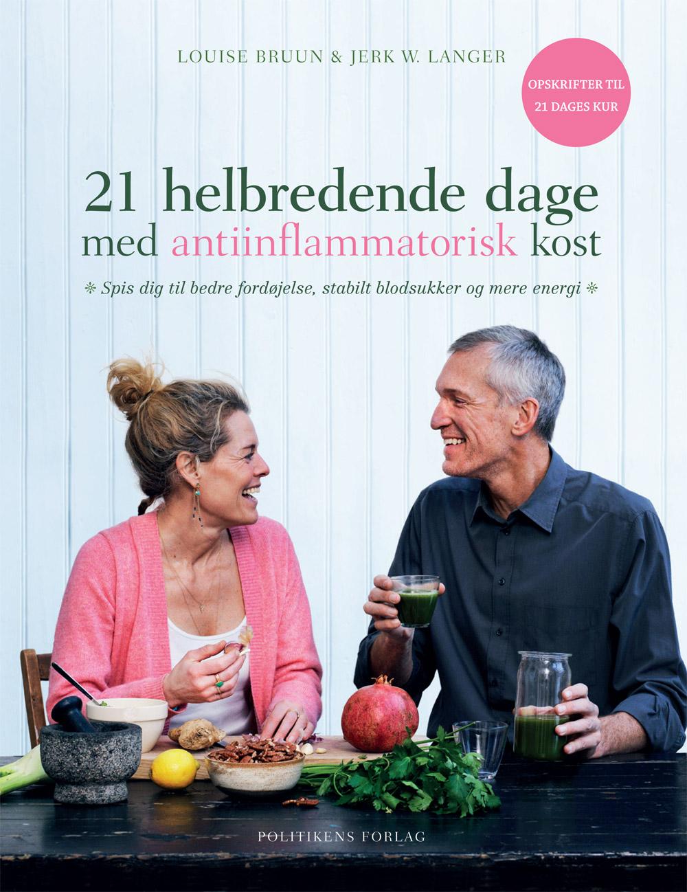 Image of   21 helbredende dage med antiinflammatorisk kost - E-bog