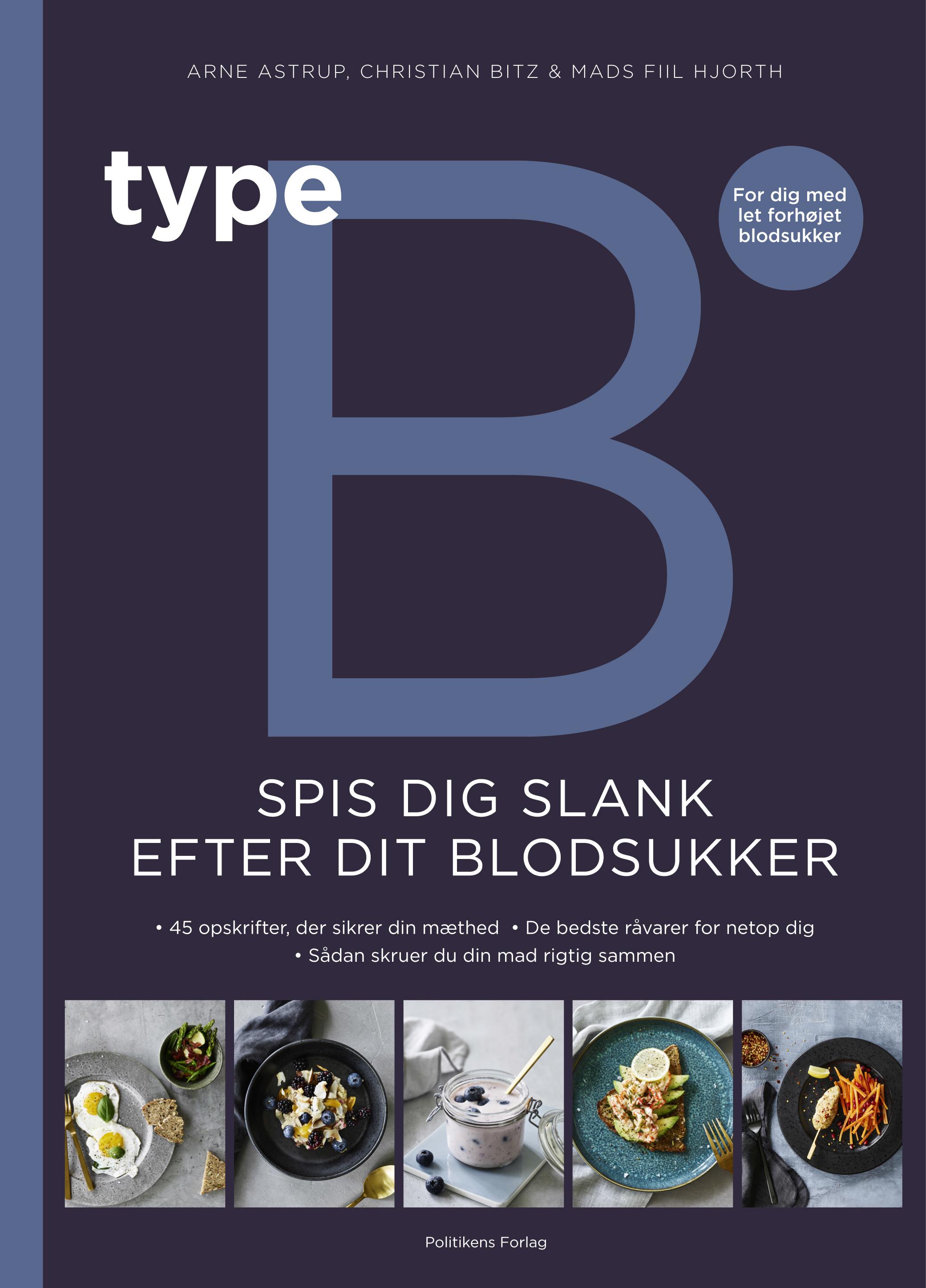 Image of   Type B - Spis dig slank efter dit blodsukker - E-bog
