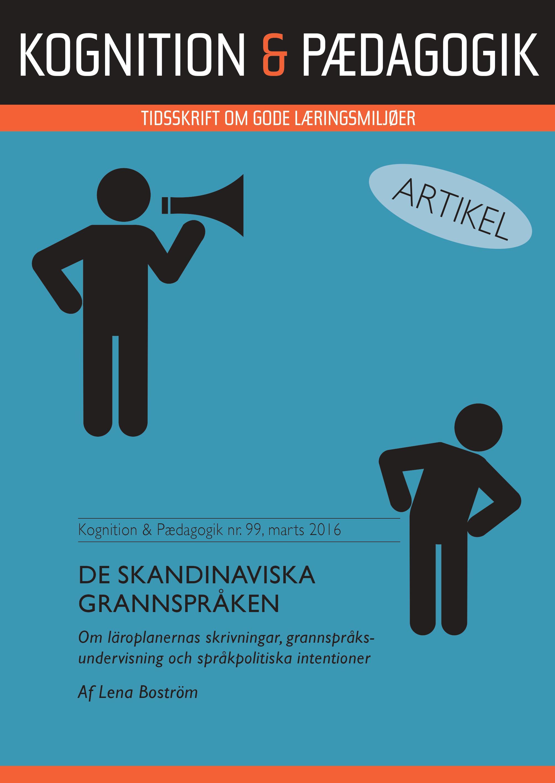 N/A – De skandinaviska grannspråken - e-bog fra bog & mystik