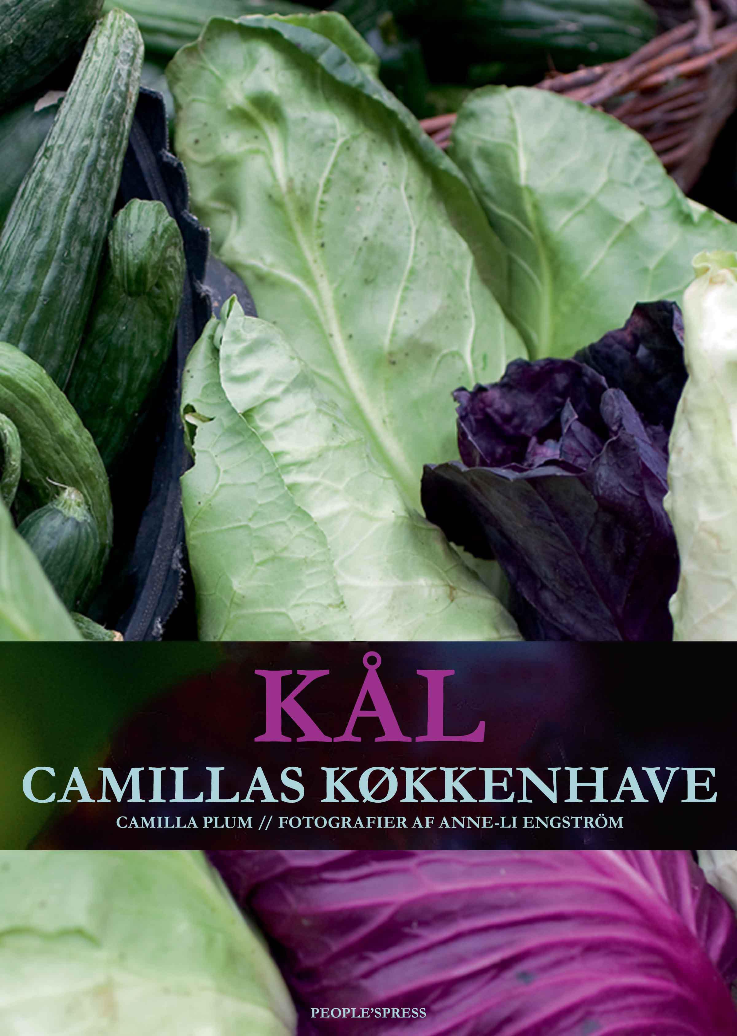 Image of   Kål - Camillas køkkenhave - E-bog