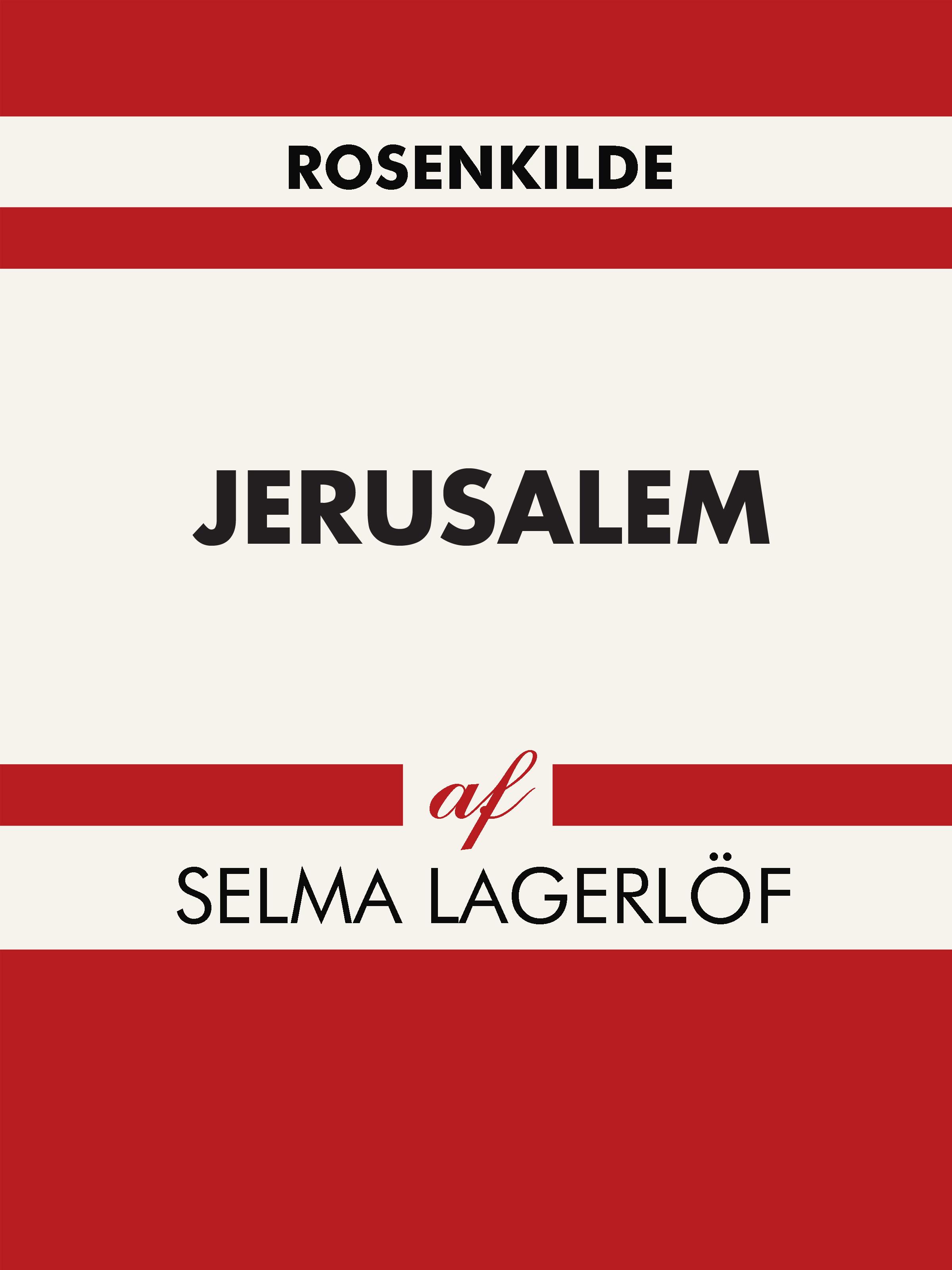 N/A – Jerusalem - e-bog fra bog & mystik