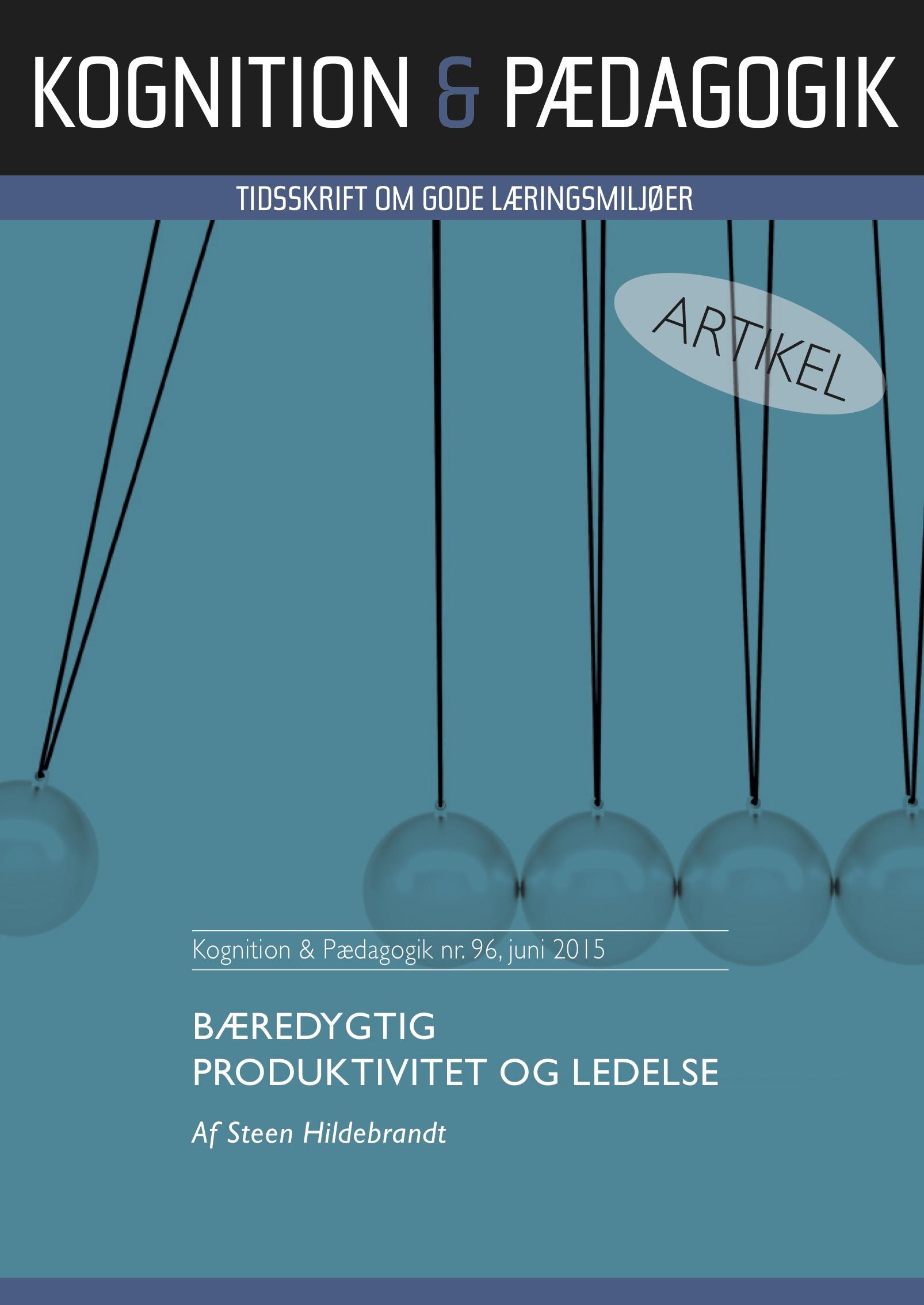 N/A Bæredygtig produktivitet og ledelse - e-bog fra bog & mystik