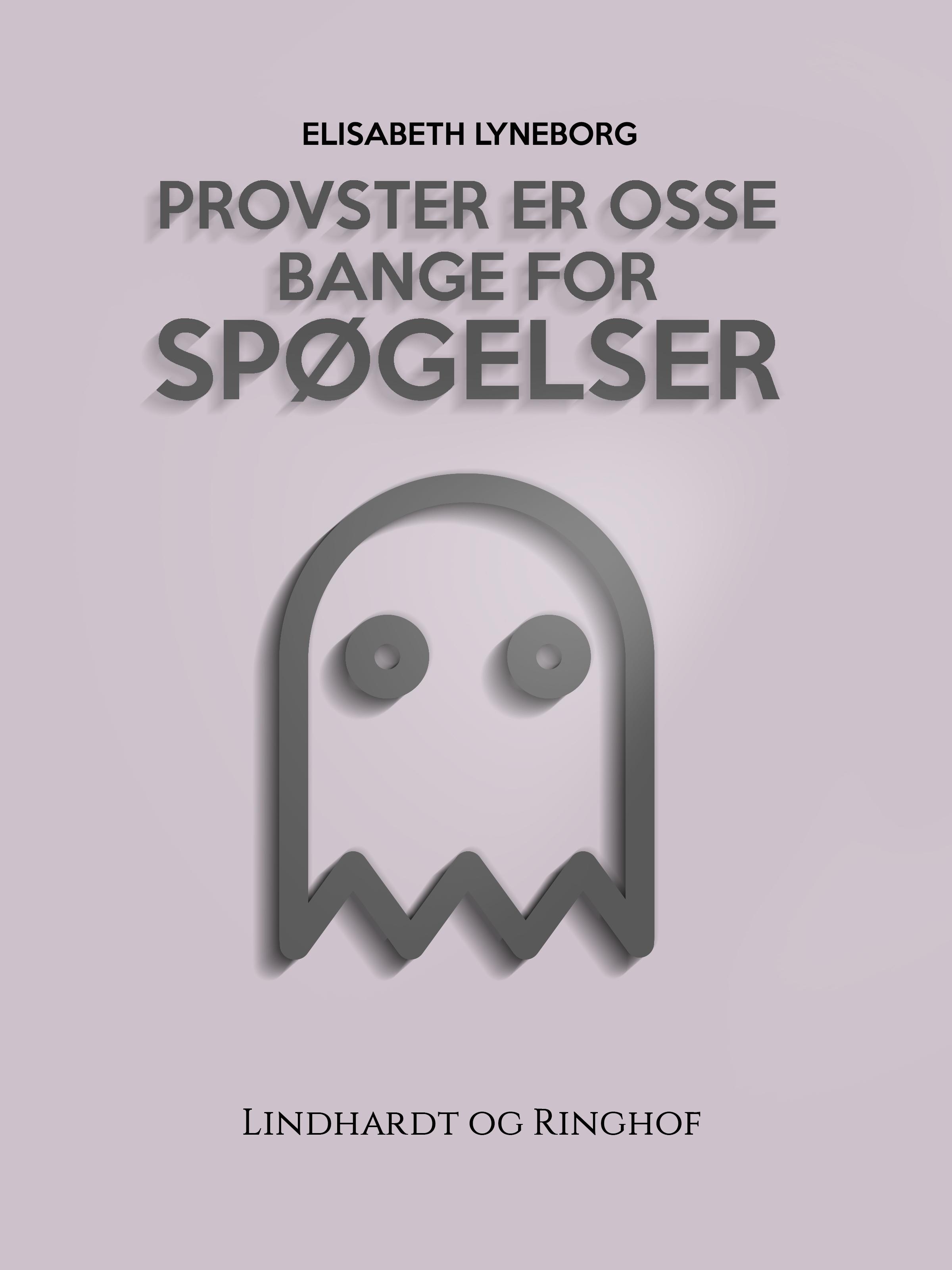 Provster er osse bange for spøgelser - e-bog fra N/A fra bog & mystik