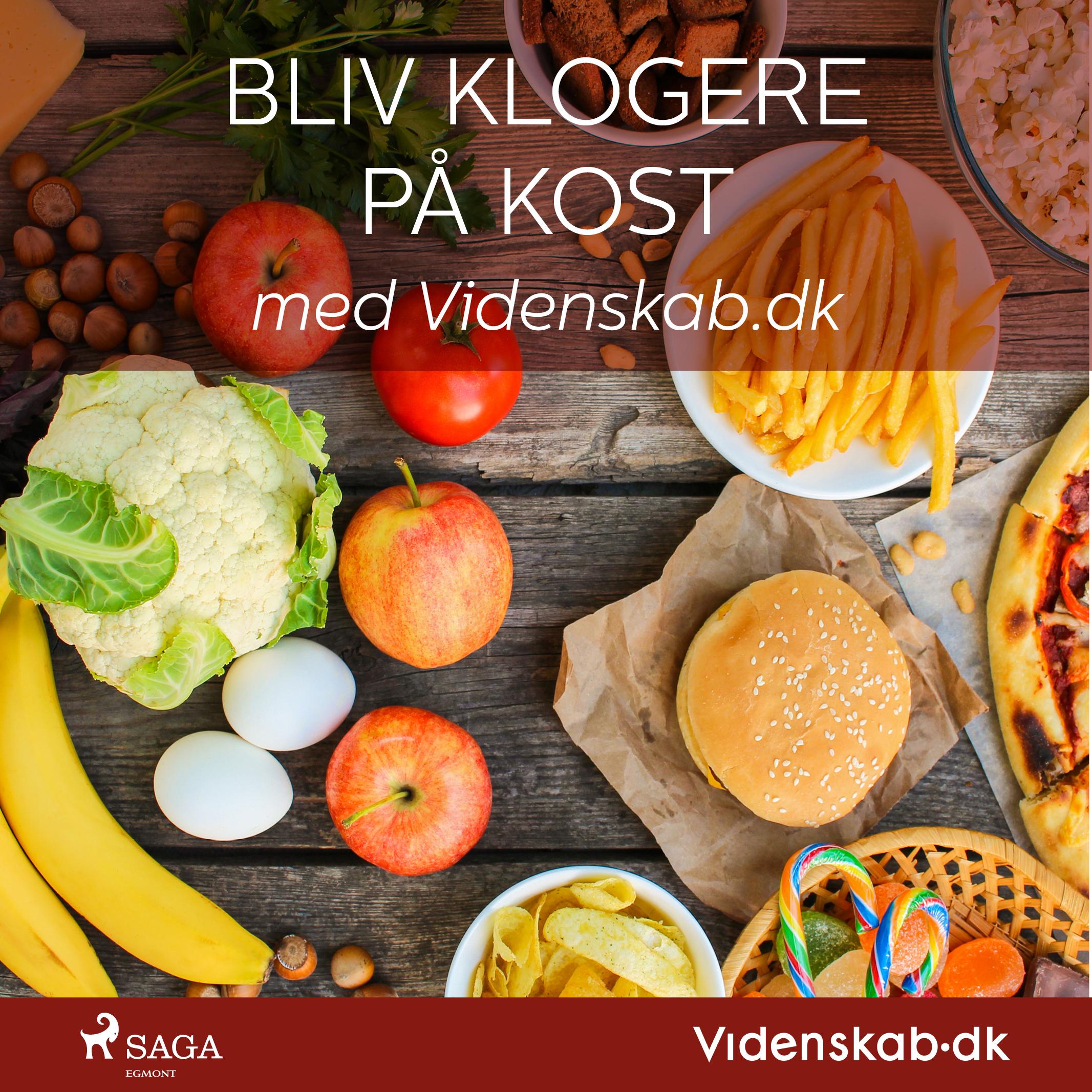 Image of   Bliv klogere på kost med Videnskab.dk - E-lydbog