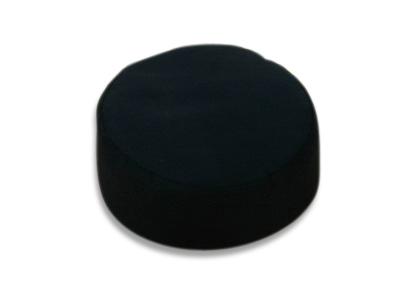 Lotus Meditationspude - 29x10cm - Sort