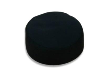 Lotus Meditationspude - 29x19cm - Sort
